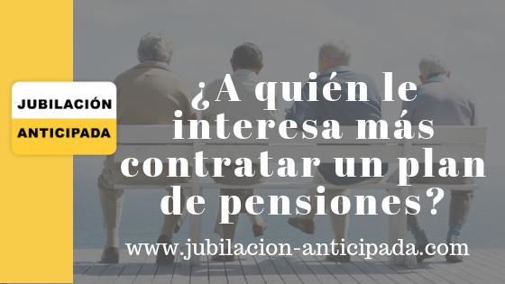 contratar plan de pensiones