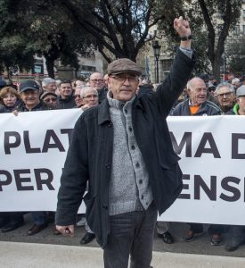 Jubilados en España